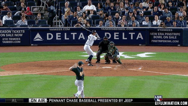 Ichiro Cleverly Hits The Ball Inside Pitcher's Jersey