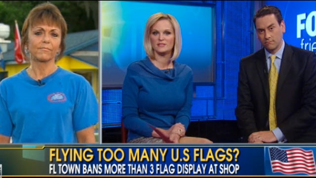 Patriotic Hoagie Shoppe Punished for Too Many Flags