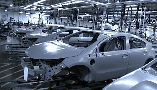 How GM Builds The Pre-Production Chevy Volt