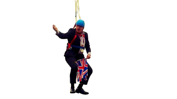 London's Dangling Mayor Becomes Latest Delightful British Meme
