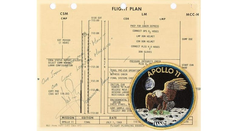 Read the Apollo 11 Flight Plan in Its 353-Page Entirety
