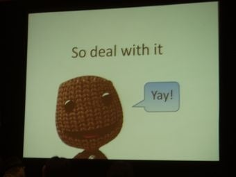 How Sackboy Learned to Love Physics
