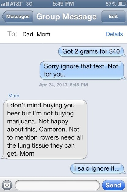 Ingenious Prank Sends Parents Into Weed Panic