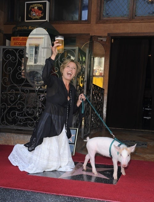 Emma Thompson Has The Greatest Walk Of Fame Ceremony Of All Time