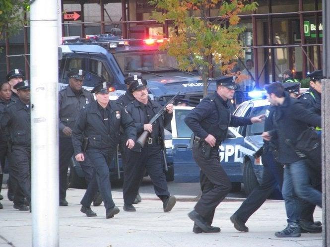 Dark Knight Set Photos Newark, NJ