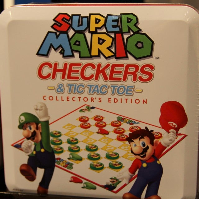 Mario Checkers, Mario RC Cars, Mario Memory Game??