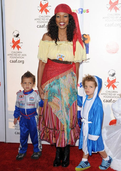 Garcelle Beauvais Is A Fan Of NASCAR, Boxing, And Piracy