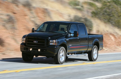Jalopnik Reviews: 2007 Ford F250 Outlaw — He Drove He Drove Edition — Part 3