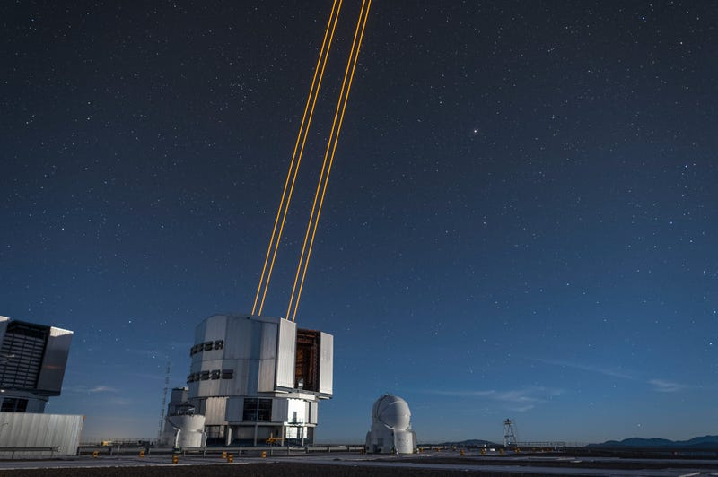 These Four Laser Beams Will Create the World's Most Powerful Fake Stars