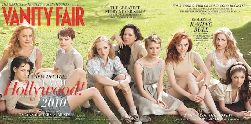 Handicapping the Vanity Fair 'New Hollywood' Cover Girls