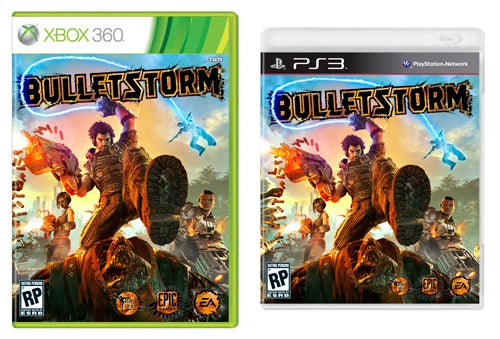 Bulletstorm's Box Art Kicks You In The Face With Color