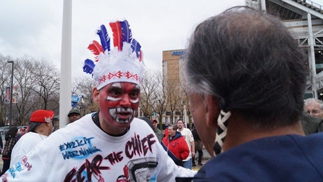 "Indians Fan On His Redface: ""It's Cleveland Pride"""