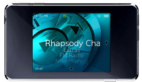 iRiver clix Rhapsody Review