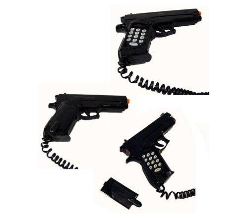 Gun Phone: A Haiku