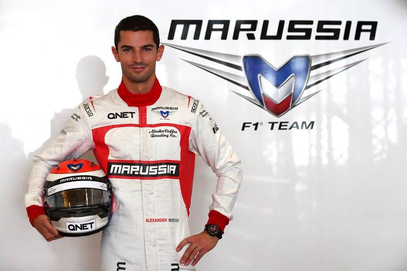 Raphel Orlove Impersonator Alex Rossi Signs With Marussia