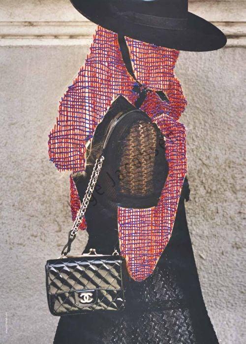 Hand-Stitching Turns Fashion Magazines Into High Art
