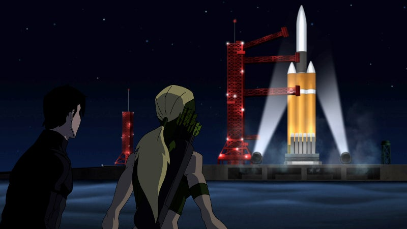 Images from Young Justice, 'Depths'