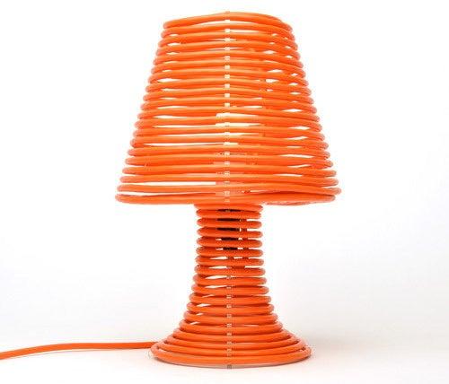 Lamp Mummified by Power Cord