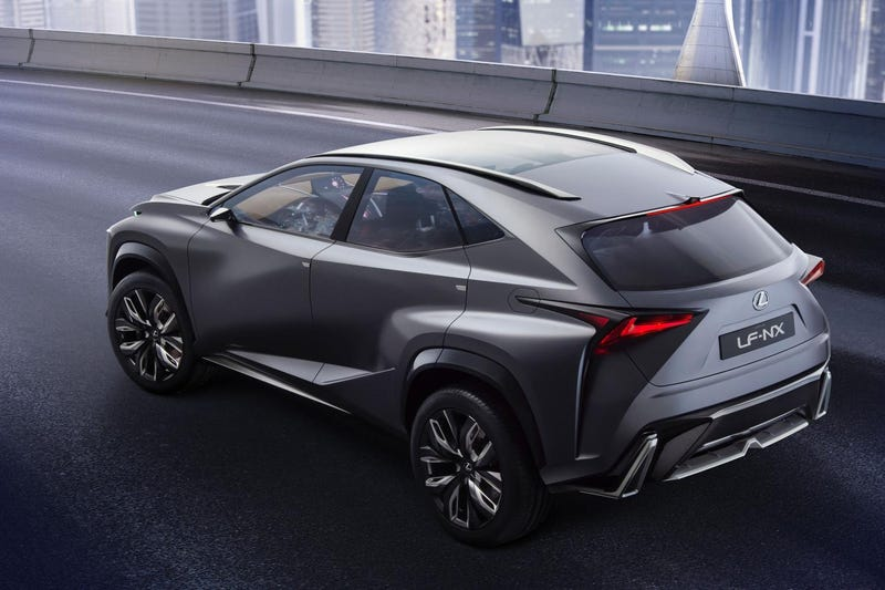 Lexus To Display New LF-NX Concept At Tokyo Motor Show