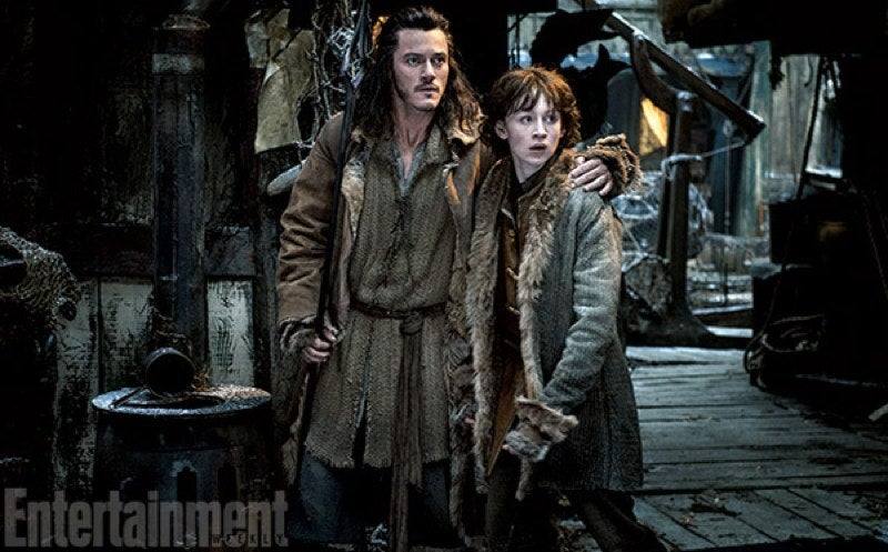 Stephen Fry's Insane Look in Hobbit: The Desolation of Smaug