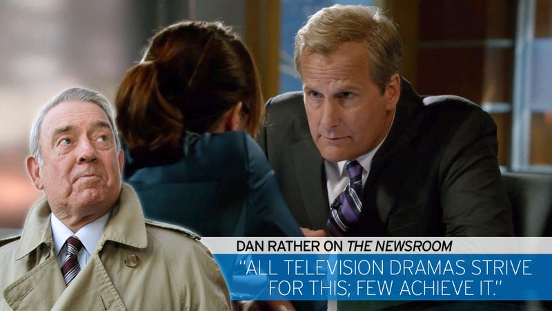 The Anchor Remembers an Ancient Truth: Dan Rather Recaps The Newsroom