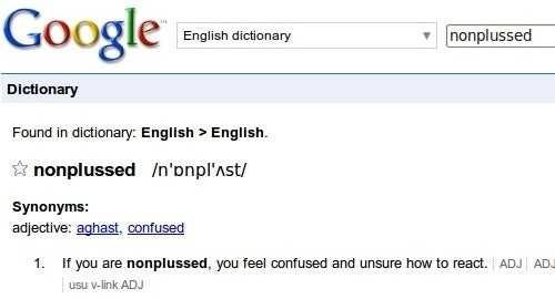 Google Does Its Own Dictionary Definitions