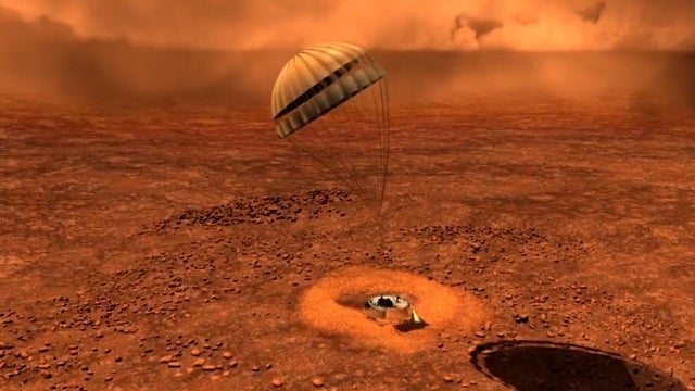 Probe data reveals a surface on Titan that's soft, sandy, and fragile