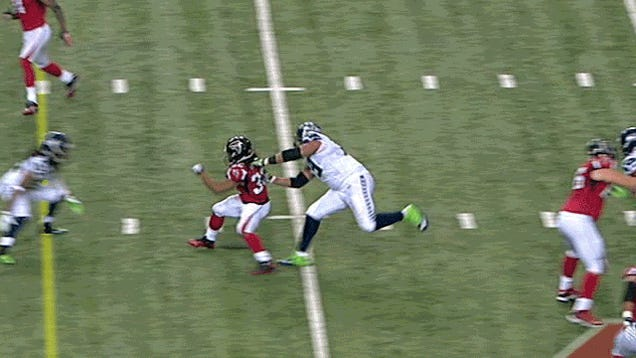 Atlanta Finally Wins A Playoff Game And Brandon Spikes Over-Celebrates: Falcons-Seahawks And Patriots-Texans, In GIFs [Updated]