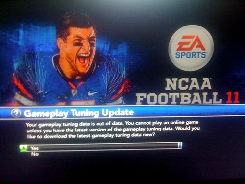 First Tuning Update Arrives For NCAA Football 11