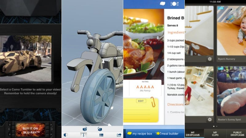 Dropcam, Butterball Cookbook Plus, and More