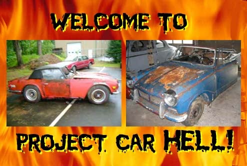 Project Car Hell, Triumph Of The Rust Edition: 1964 Herald or 1968 TR6?