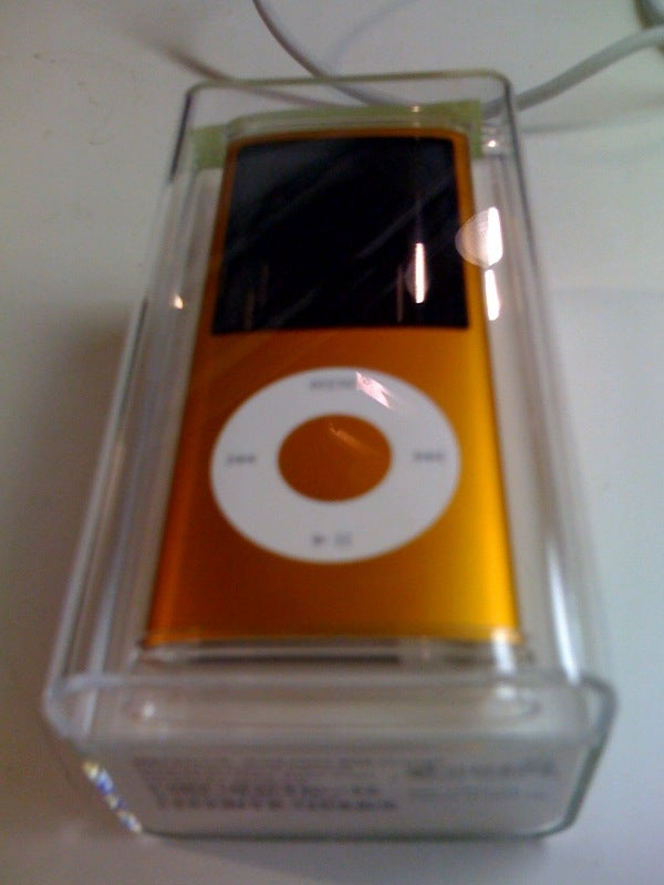 Unconfirmed: An Actual Picture of the New iPod Nano