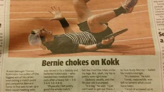 Shuttered Newspaper Goes Straight For The Dick-Joke Headline