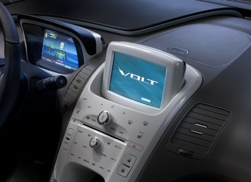 Chevy Volt Uses GPS to Maximize Electric Engine Use