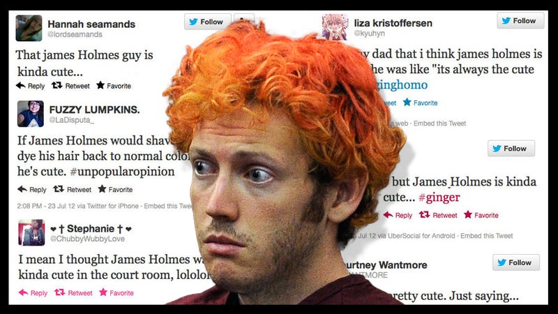 Disturbing: Women on Twitter Think James Holmes Is 'Hot,' 'Sexy,' 'Cute'