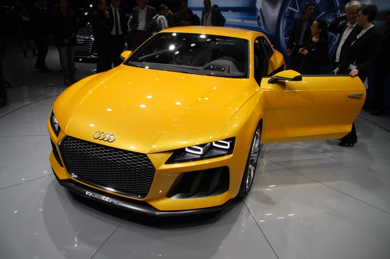 The Audi Sport Quattro Concept Could Be Fantastic