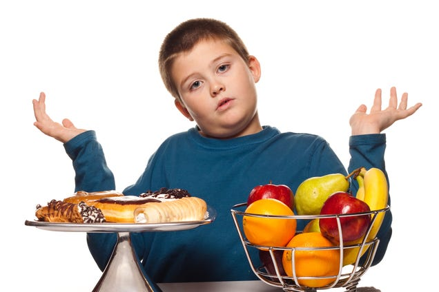 Fat Kid Crying Over Food Fat Kids Find Solace in Food's