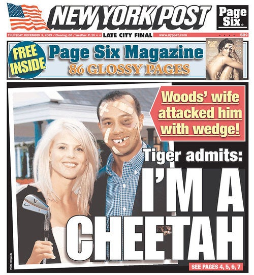 Tiger Woods Admits Cheating, No-One Knows What Will Happen in Afghanistan