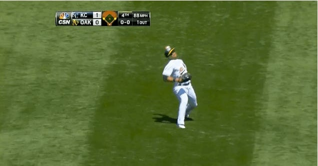 Sam Fuld Puts His Entire Body Into It, Throws Man Out At Home