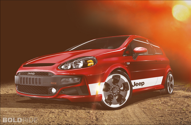 Fiat Punto Coming to America as Jeep Hot Hatch?