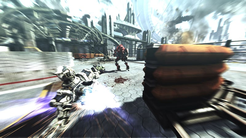 First Screens Of Vanquish, Platinum Games' New Shooter