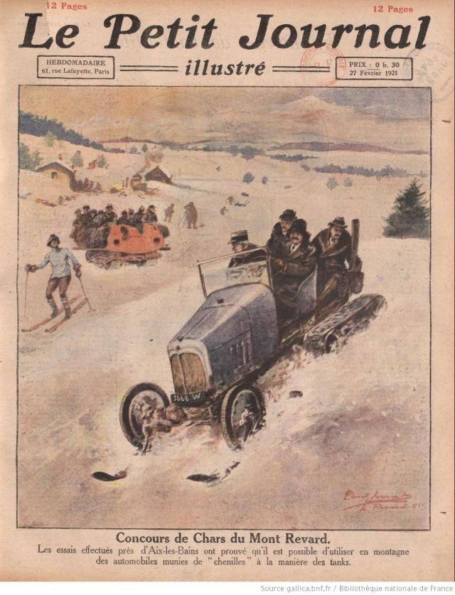 Concurso de carros de Mont Revard