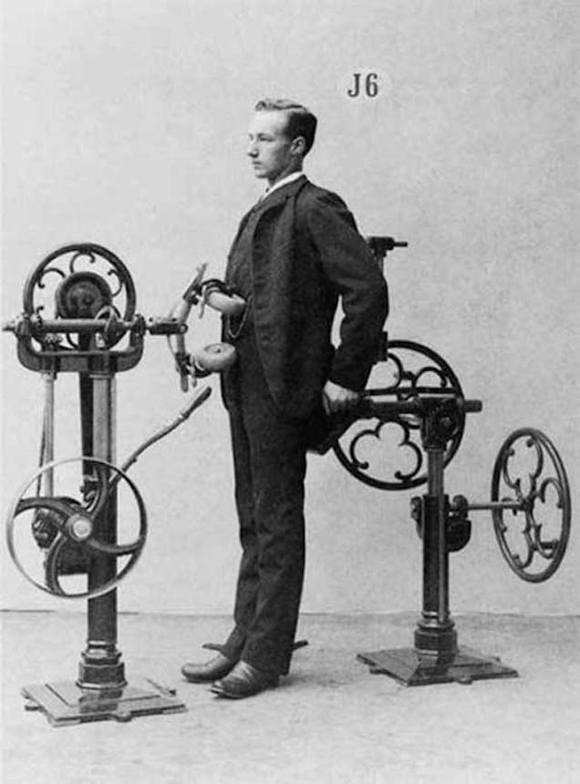 11 Machines That Exercise For You, From the Victorian Era to Today