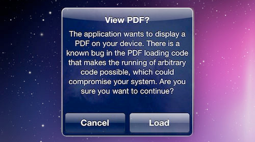 Jailbreak Your iOS 4 Device to Protect Against Its PDF Exploit