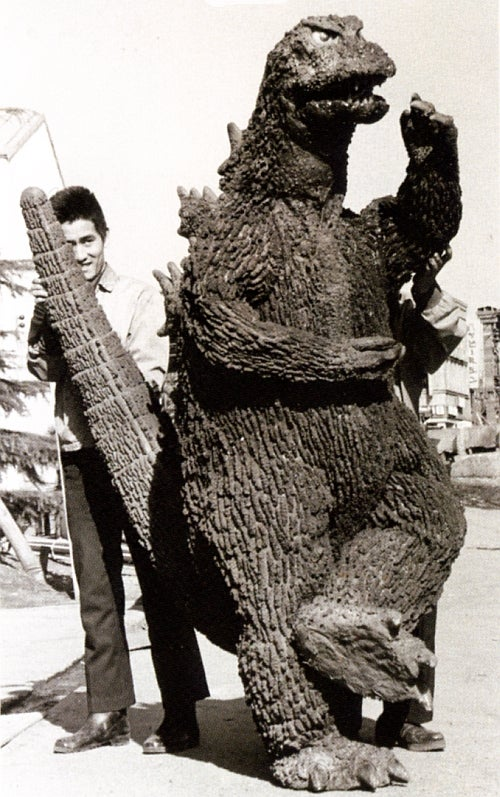 Behind-the-scenes Godzilla photos were charming, absolutely ridiculous