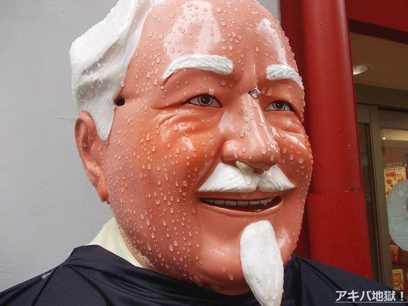 Colonel Sanders Sure Looks Like Hell