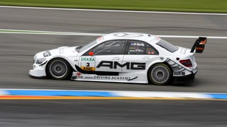 DTM silhouettes, Maseratis, Porsches, F3 cars and the Sunstroke