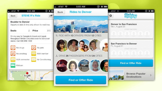 Ridejoy Finds Road Trip Partners for Long Distance Trips