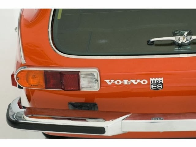 A 40 Year Old Volvo 1800ES With Only 90 Miles On The Odometer