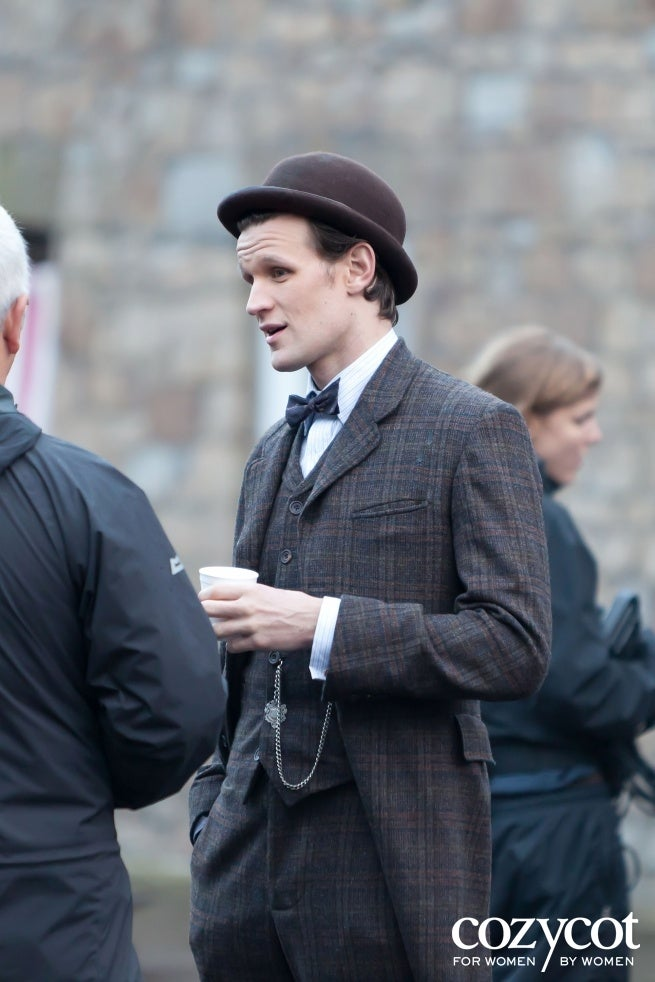Doctor Who Season 7 shoot in Cardiff, Wales